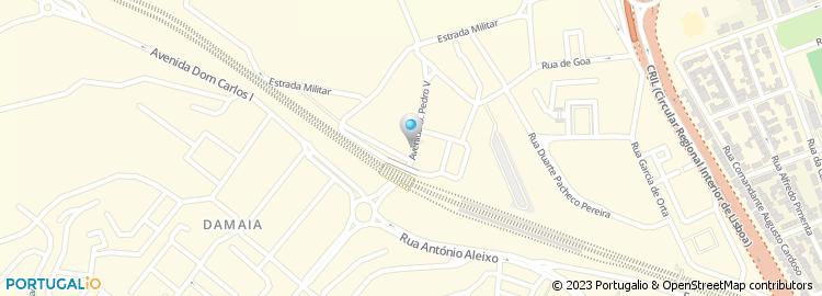 rua d pedro v lisboa mapa Avenida Dom Pedro v   Amadora rua d pedro v lisboa mapa