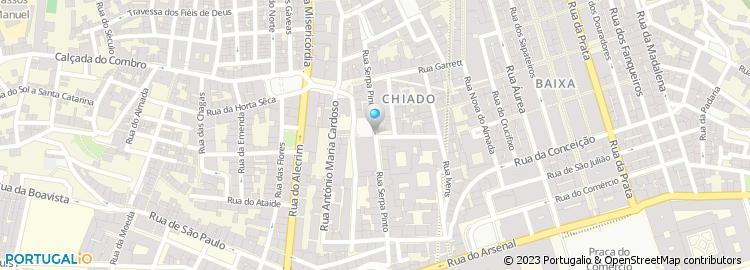 rua serpa pinto lisboa mapa Artemoldura   Fabrico e Restauros, Lda rua serpa pinto lisboa mapa