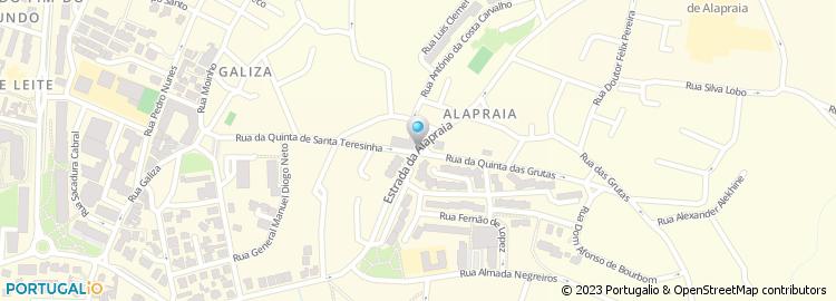 alapraia mapa Estrada da Alapraia alapraia mapa