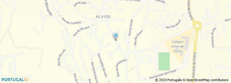 alvide mapa Rua de Alvide   Cascais alvide mapa