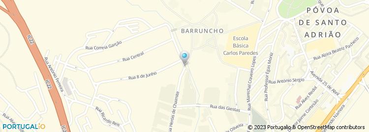 calçada de carriche mapa Floresta da Calçada de Carriche Vinhos & Petiscos, Unip., Lda calçada de carriche mapa