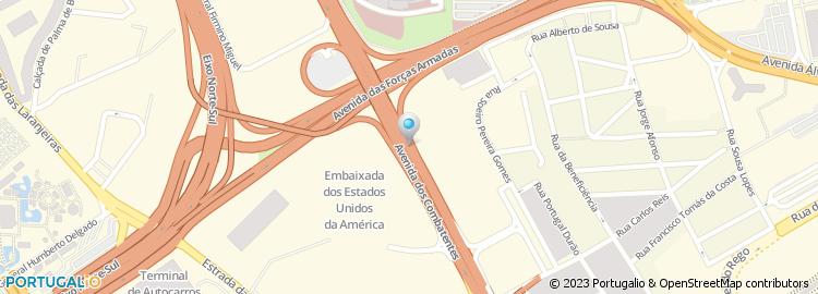 avenida dos combatentes lisboa mapa Fundação Guerra Madaleno avenida dos combatentes lisboa mapa