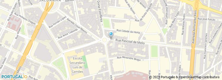 rua pascoal de melo lisboa mapa Lar Pascoal de Melo, Lda rua pascoal de melo lisboa mapa