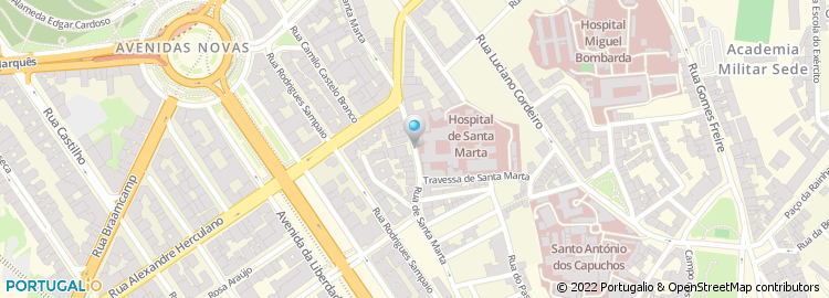 rua santa marta lisboa mapa Apartado 3810, Lisboa rua santa marta lisboa mapa