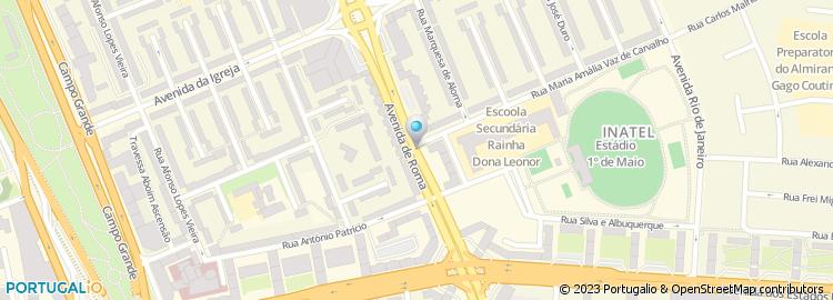 avenida de roma lisboa mapa Apartado 8702, Lisboa avenida de roma lisboa mapa