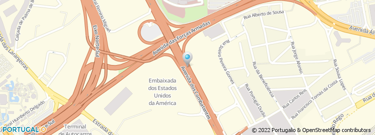 avenida dos combatentes lisboa mapa Avenida dos Combatentes   Lisboa avenida dos combatentes lisboa mapa