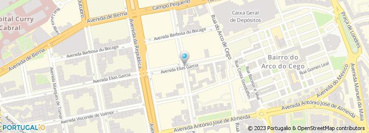 av elias garcia lisboa mapa Avenida Elias Garcia   Lisboa av elias garcia lisboa mapa