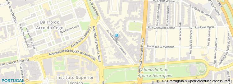 av guerra junqueiro lisboa mapa Avenida Guerra Junqueiro   Lisboa av guerra junqueiro lisboa mapa