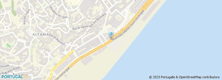 av infante d henrique lisboa mapa Avenida Infante Dom Henrique   Lisboa av infante d henrique lisboa mapa