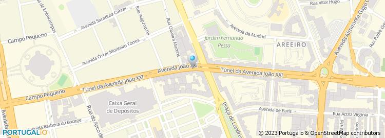av joao xxi lisboa mapa Avenida João Xxi   Lisboa av joao xxi lisboa mapa