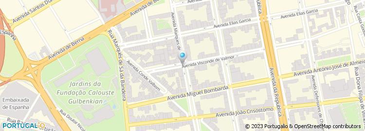 av marquês de tomar lisboa mapa Avenida Marquês de Tomar   Lisboa av marquês de tomar lisboa mapa