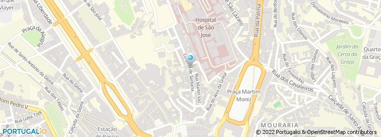 calçada de santana lisboa mapa Calçada de Santana   Lisboa calçada de santana lisboa mapa