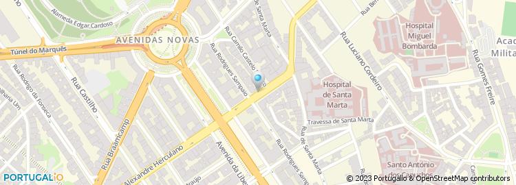 rua alexandre herculano lisboa mapa Rua Alexandre Herculano   Lisboa rua alexandre herculano lisboa mapa