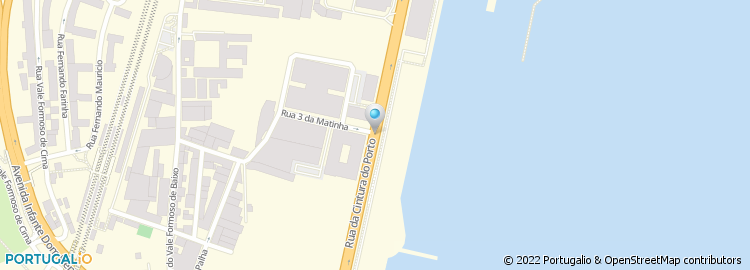 rua da cintura do porto de lisboa mapa Rua Cintura do Porto rua da cintura do porto de lisboa mapa