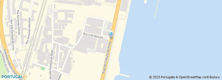rua cintura do porto de lisboa mapa Rua Cintura do Porto rua cintura do porto de lisboa mapa