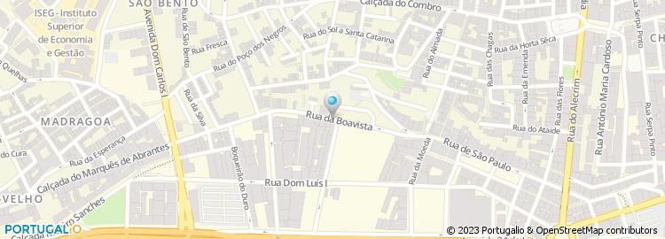 rua da boavista lisboa mapa Rua da Boavista   Lisboa rua da boavista lisboa mapa