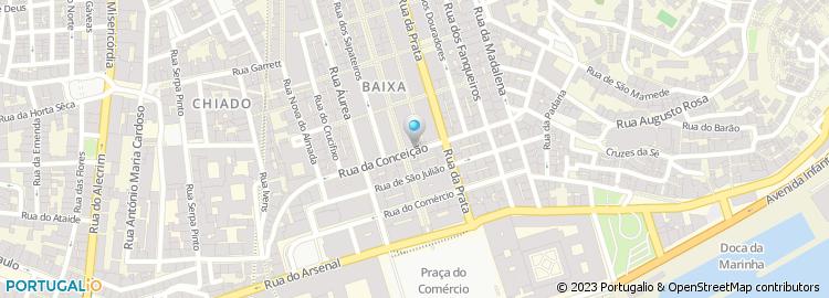 rua da conceição lisboa mapa Rua da Conceição   Lisboa rua da conceição lisboa mapa