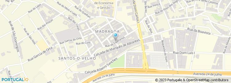 rua da esperança lisboa mapa Rua da Esperança   Lisboa rua da esperança lisboa mapa
