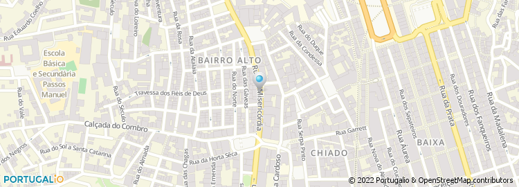 rua da misericordia lisboa mapa Rua da Misericórdia   Lisboa rua da misericordia lisboa mapa