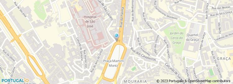 rua da palma lisboa mapa Rua da Palma   Lisboa rua da palma lisboa mapa