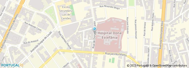 rua d estefania lisboa mapa Rua de Dona Estefânia   Lisboa rua d estefania lisboa mapa