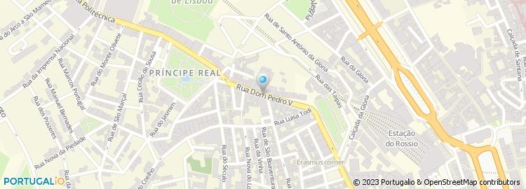 rua d pedro v lisboa mapa Rua Dom Pedro v   Lisboa rua d pedro v lisboa mapa