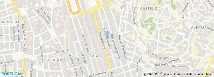 rua dos douradores lisboa mapa Rua dos Douradores   Lisboa rua dos douradores lisboa mapa