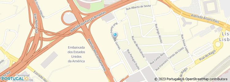 rua soeiro pereira gomes lisboa mapa Rua Soeiro Pereira Gomes   Lisboa rua soeiro pereira gomes lisboa mapa