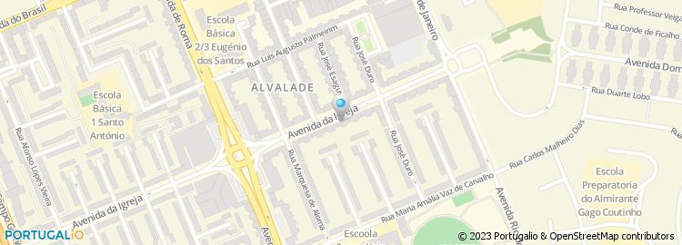 avenida da igreja lisboa mapa Parfois, Avenida da Igreja, Lisboa avenida da igreja lisboa mapa