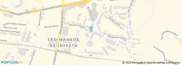 mapa sao mamede infesta Paulo A N Abreu Sousa mapa sao mamede infesta