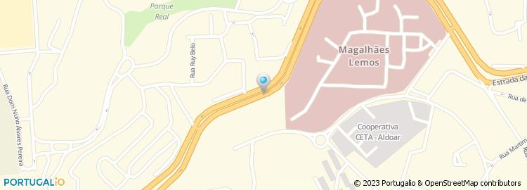 circunvalação porto mapa Acesso Alameda Linhas de Torres/Circunvalação   Porto circunvalação porto mapa