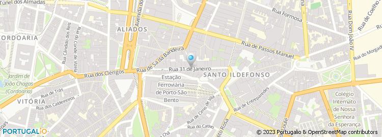 rua 31 de janeiro porto mapa Rua 31 de Janeiro   Porto rua 31 de janeiro porto mapa
