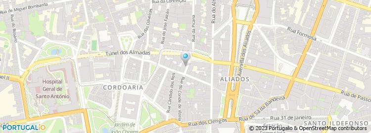 rua de aviz porto mapa Rua Avis   Porto rua de aviz porto mapa