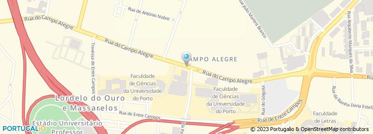 campo alegre porto mapa Rua do Campo Alegre   Porto campo alegre porto mapa