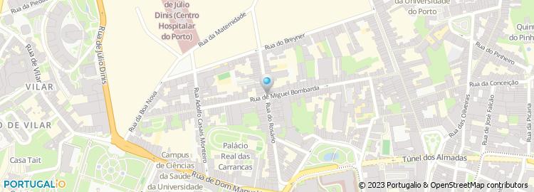 rua do rosario porto mapa Rua do Rosário   Porto rua do rosario porto mapa