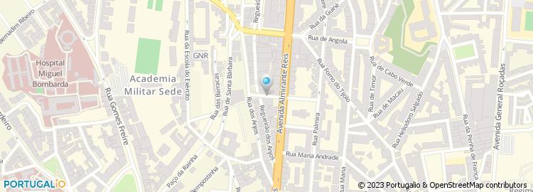 sef lisboa mapa SEF, CNAI de Lisboa sef lisboa mapa