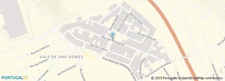 vale ana gomes setubal mapa Estrada Vale Ana Gomes vale ana gomes setubal mapa