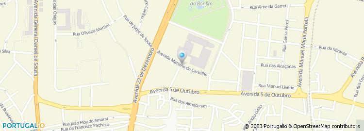 praça da republica setubal mapa Praça da República   Setúbal praça da republica setubal mapa