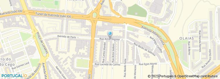 bairro dos actores lisboa mapa Vinicola do Bairro dos Actores de Octavio & Marques, Lda bairro dos actores lisboa mapa